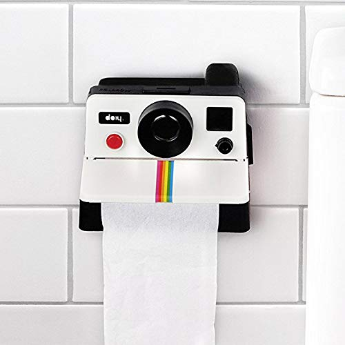 lizeyu Tissue Box Polaroid Camera Shape Tissue Box Toilet Paper Holder Box Bathroom Decoration