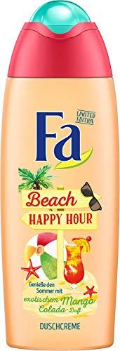 FA Duschcreme Happy Hour mit exotischem Mango-Colada Duft, 1er Pack (1 x 250 ml)