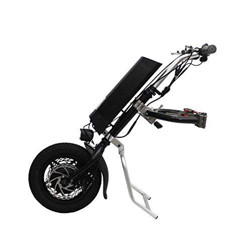 Urcar 12inch 36V 250W Tractor de Silla de Ruedas eléctrica Handcycle Handbike DIY Kits de conversión de Silla de Ruedas eléctrica Cabezal de accionamiento para automóvil discapacitado ✅