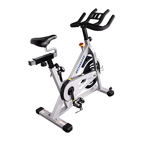 Best Buy! GIGA Indoor Exercise Bike with Silent Magnetic Belt Drive Mechanism, Suitable for Home Use