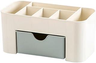 Caja para Cosméticos ZARLLE Caja Multiuso de Almacenamiento Cosmético y Mesa de Colocación de Escombros Cesta de Almacenamiento de Plástico Organizador Guardar Espacio De Escritorio