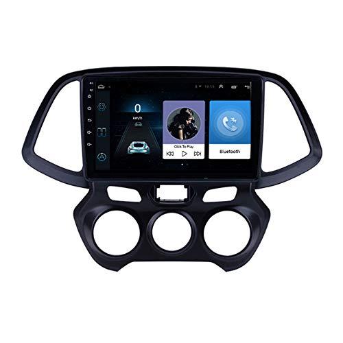 ADMLZQQ Android 9.0 Radio de Coche navegación GPS para Hyundai Santro/Atos 2018 Car Stereo FM/Manos Libres Bluetooth/Controles del Volante/Cámara De Visión Trasera,8 Cores 4g+WiFi:2+32g