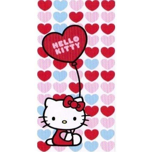 Toalla de baño Hello Kitty - Dimensión : 150 x 75 cm
