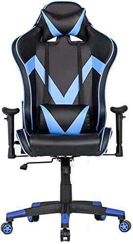 MHIBAX Silla para juegos Silla deoficina Silla para juegos Silla de carreras Oficina con respaldo alto Sillas para computadora con sillas de escritorio ajustables (Tamaño: 7