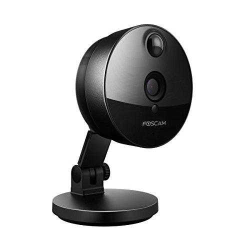 Foscam C1+16gb_3 Wireless HD 720P netwerkcamera binnen zwart, 1 megapixel