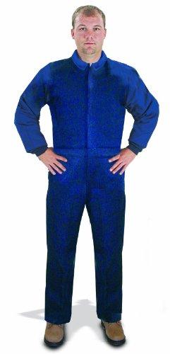 Greep van NBU9300B01-4XL 4XL Westex oppervlak van niet-brandbare werkkleding golfclub - marineblauw