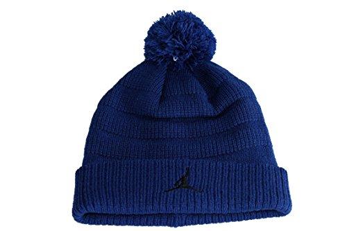 Nike AIR JORDAN JUMPMAN Blue BEANIE Wintermütze Mütze Cap Blau Unisex Size 4/7