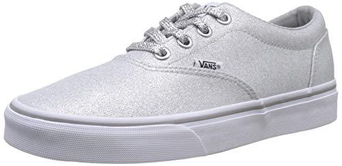 Vans Doheny, Zapatillas para Mujer, Gris ((Lurex Glitter) Silver V2a), 36.5 EU
