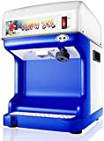 Kommerzielle rasierte EIS-Maschine Vollautomatische einstellbare Dicke Milk Tea Shop EIS-Crusher, Schnee, EIS Smoothie Maschine, Stärkeeinstellung (Size : 35 * 29 * 43cm)