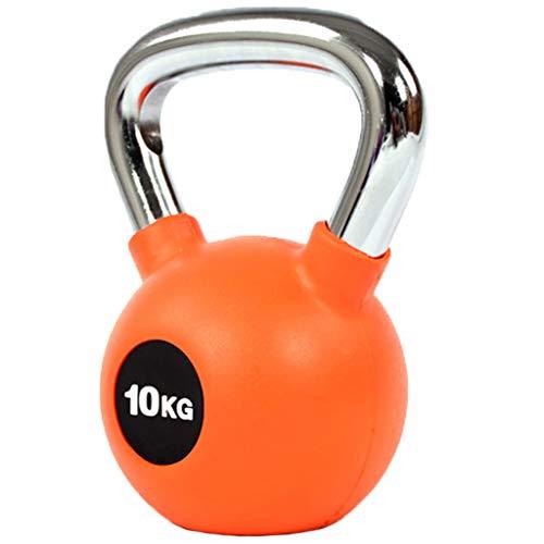 OCYE Metall-Kettlebells, Emaille-Krafttrainingsgeräte, Sportgeschenke für Männer, Fitnessgeräte für Männer und Frauen Kniebeugen (4 kg / 6 kg / 8 kg / 10 kg / 12 kg / 14 kg)