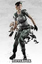 "Notebook: Rebecca Chambers Resident Evil , Journal for Writing, College Ruled Size 6"" x 9"", 110 Pages"