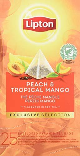 Lipton Selección Exclusiva Té Negro Melocotón Y Mango - 6