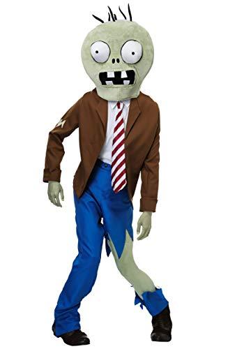 Adult Plants VS Zombies Zombie Fancy Dress Costume X-Large