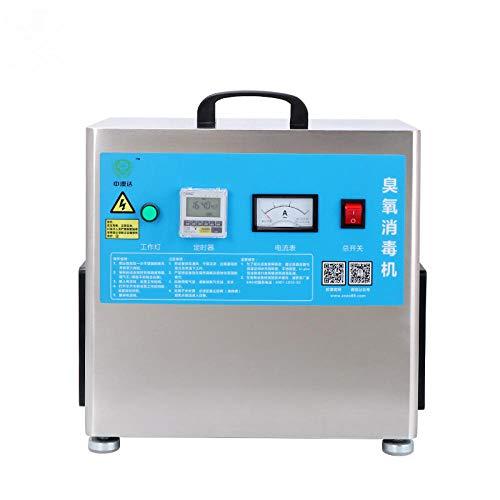 Purificador de aire de ozono profesional O3, purificador de aire portátil para el hogar, la oficina, la granja, la máquina de ozono para polvo, fumadores, alergias, polen, mascotas, olor a cocción