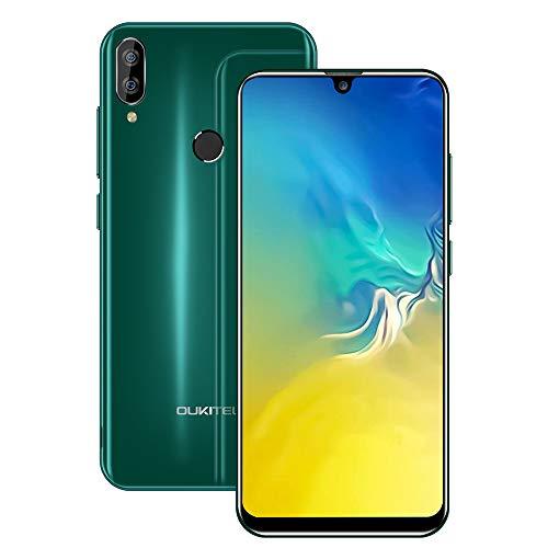 OUKITEL C16 Unlocked Phones, Cell Phones Unlocked 5.7' HD+ Waterdrop Display Smartphones Android 9.0 8+5MP 16GB ROM+2GB RAM Dual Camera 2600mAh Battery Face Unlock & Fingerprint ID (Green)