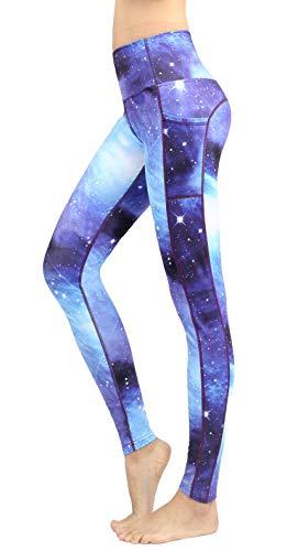 Sugar Pocket Women's Yoga Leggings Fitness Tights Workout Pants Gym Leggings with Pocket M