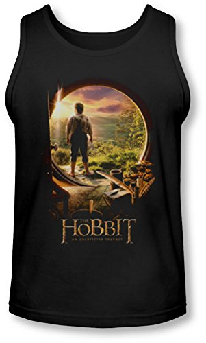 The Hobbit - Männer Hobbit In Tür Tank-Top, X-Large, Black