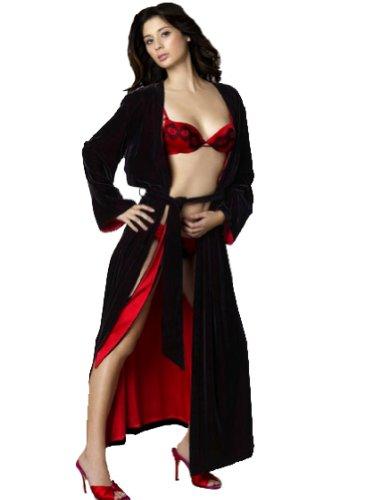 Spoylt Ingrid Velvet Robe & Blindfold