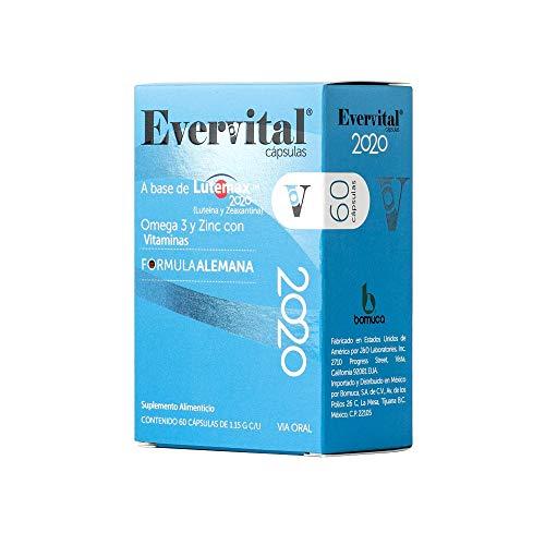 Evervital 20/20 Suplemento alimenticio 60 cápsulas