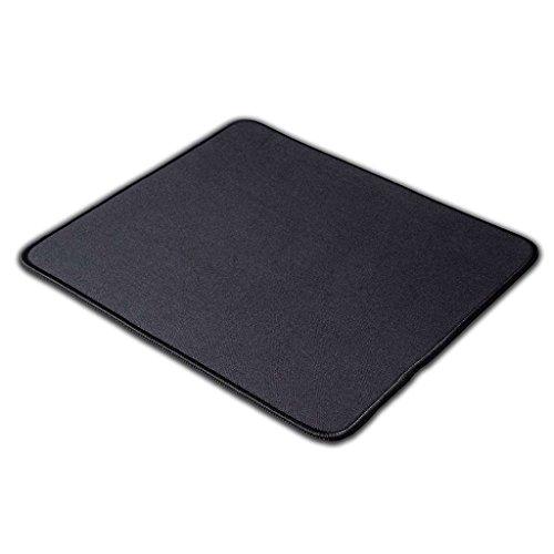 KAZAIRA Original Gaming Mouse Pad with Anti-Fray Stitched Edges - 13' x 11' - Black