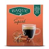 Cafés Baqué - Spiced 10 Cápsulas compatibles con Dolce Gusto ®