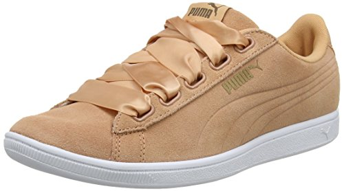 Puma Damen Vikky Ribbon Sd P Sneaker, Orange (Dusty Coral-Dusty Coral), 38 EU