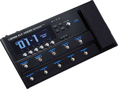 BOSS GT-1000 Guitar Effects Processor, Le meilleur de...