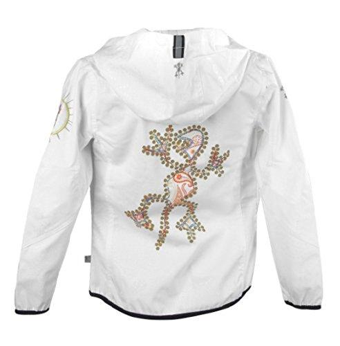 XS Exes Mädchen Softshelljacke Übergangsjacke weiß 201098, Größe 128