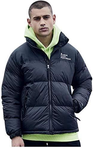 Men's Puffer Down Coat Long Sleeve Lightweight Warm Soft Winter Coat Outwear Windproof