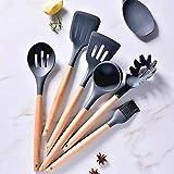 Zoom IMG-1 charlemain set utensili cucina silicone