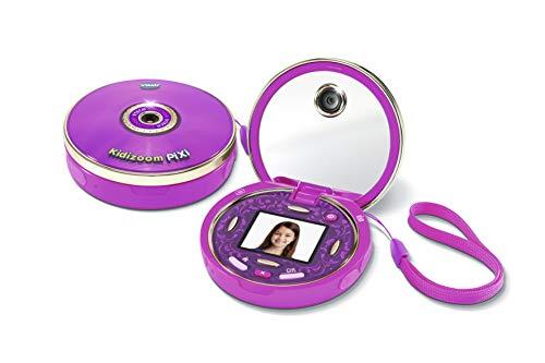VTech – KidiZoom Pixi, appareil photo enfant rose, jouets éducatifs – Version FR
