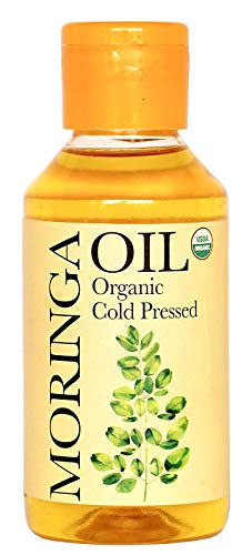 Daana Organic Moringa Oil for Skin: Extra Virgin, Cold Pressed (4 fl oz)