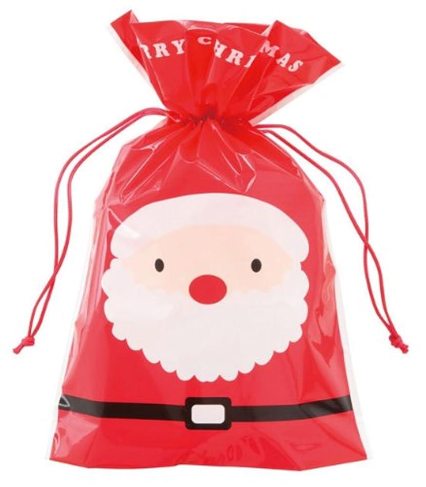 用心深い議題ポスト印象派クリスマスラッピング ギフト袋 両面デザイン サンタ&スノーマン (中)