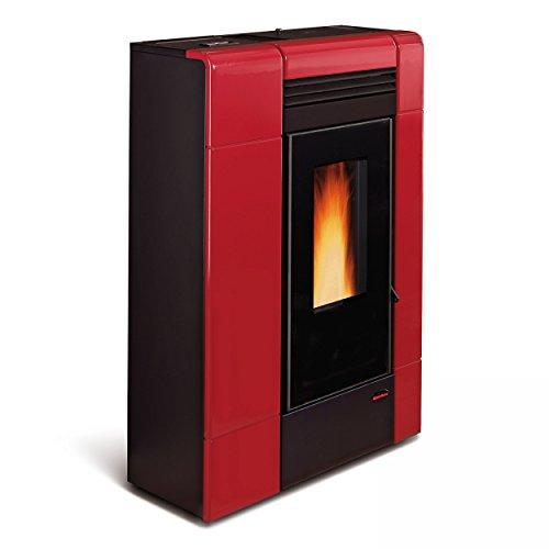 Extra vlam pelletkachel 8 kW vlam Ilenia, Bordeaux