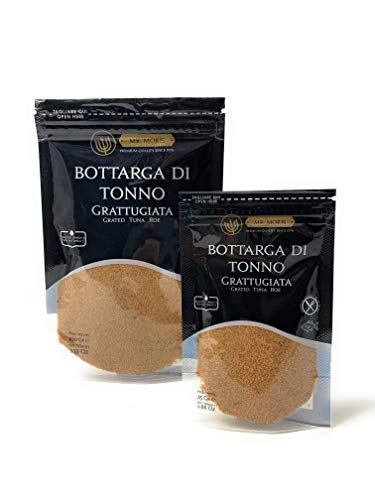 Bottarga di Tonno Grattugiata in Bustina Kosher Mr Moris - Lavorata in Italia - (100Gr)