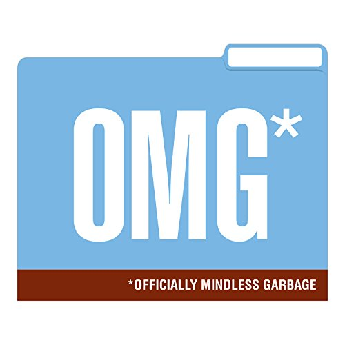 Knock Knock Honest Acronyms File Folders Set, Funny Cubicle Décor (Set of 6, 11.5 x 9-inches) Photo #9
