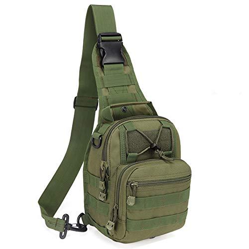 Hopopower Tactical Sling Backpack for Men Crossbody Shoulder Backpack Military Sport Bag EDC Chest Daypack