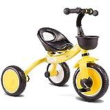 Daxiong Triciclo para niños, Ligero 2-5 años Cochecito de Coches de Juguete...