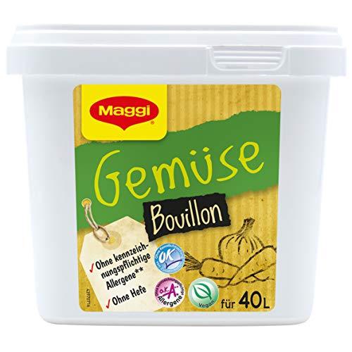 Maggi Gemüsebouillon o.k.A., Sofort löslich, Bain-Marie stabil, 1er Pack (1 x 800g Gastro Box)