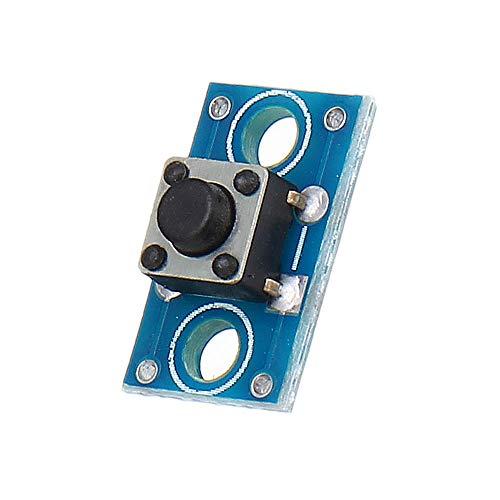 MING-MCZ Duradero 6x6mm Clave Módulo Interruptor de botón táctil 3pcs módulo de componentes electrónicos Fácil de Montar