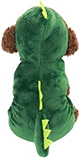Idepet Dogs Clothes Small Pet Costume Halloween Dinosaur Costume Shark Costume Dog Clothing Puppy Outfits Funny Apperal Dressing up Party Halloween Christmas Easter Festival Activity Apparel