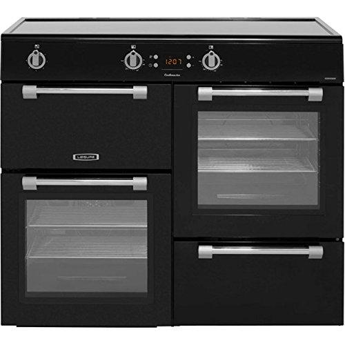 Leisure Cookmaster CK100D210K Cuisinière électrique avec plaque à induction Noir 100 cm