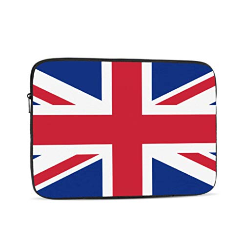 13 MacBook Case British Flag Pictures UK Flag Pictures Union Jack MacBook Air Laptop Cover Multi-Color & Size Choices10/12/13/15/17 Inch Computer Tablet Briefcase Carrying Bag