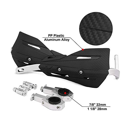 "Dirt Bike Hand Guards Handguards - 7/8"" 22mm and 1 1/8"" 28mm with Universal Mounting Kits For For Honda Yamaha Kawasaki Suzuki Dirt Bike Motorcycle MX Motocross Supermoto Racing ATV Quad KAYO"
