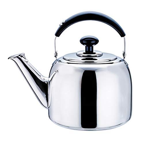 ケトル304ステンレス鋼の鍋、増粘剤ホイッスル、ガス電気炊飯器セラミックユニバーサル (Size : S)