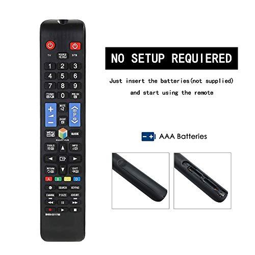 TELECOMMANDE BN59-01178B TM1250A Télécommande pour Samsung Smart TV UA55H6300AW UA60H6300AW UE32H5500 UE40H5570
