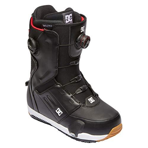 DC Step On Control BOA Mens Snowboard Boots Black/White Sz 9