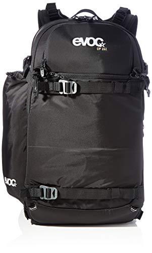 EVOC CP 26l Outdoor Kamerarucksack professioneller Fotorucksack für Fotoequipment (Gepolstert, ergonomisches Tragesystem, Gurtsystem für Eisäxte, Ski, Snowboard oder Stativ), Schwarz