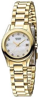 ساعة سيتيزن غولك كولار للنساء - انالوج بسوار ستانلس ستيل 4974374216038