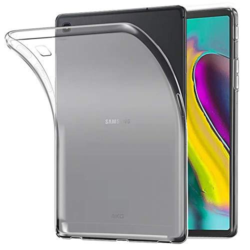 EasyAcc Samsung Galaxy Tab S5E hoes, case, ultradun, doorschijnend, mat, tablet, cover, soft, premium TPU, doorzichtige beschermhoes, backcover, slimcase voor Samsung Galaxy Tab S5E T720/ T725